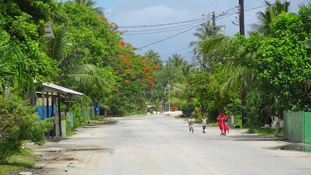 Not much going on at Sundays in Majuro
