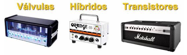 Tipos de Cabezales de Amplificador para Guitarra Eléctrica