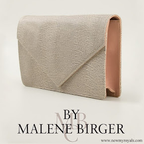Crown Princess Victoria carried By Malene Birger Koonia Clutch bag
