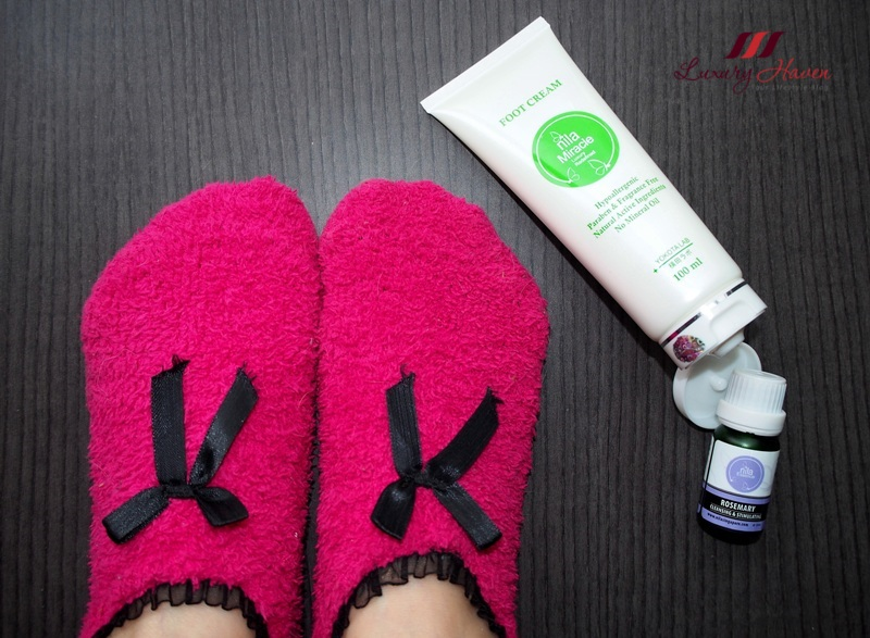 nila miracle foot cream fragrance paraben free