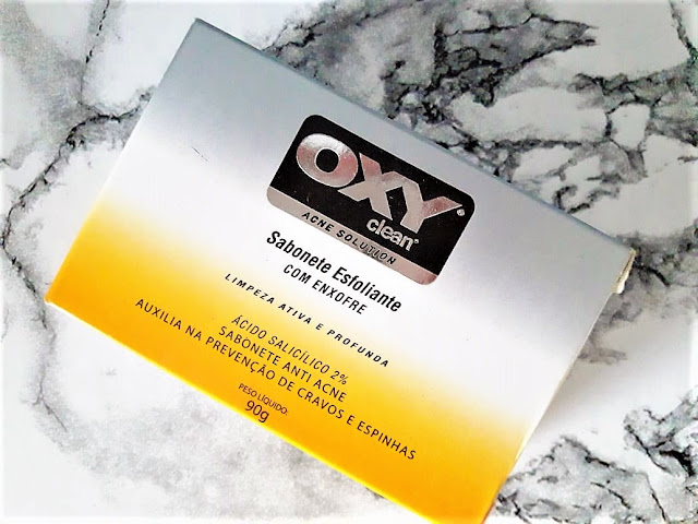 OXY CLEAN ACNE SOLUTION SABONETE ESFOLIANTE