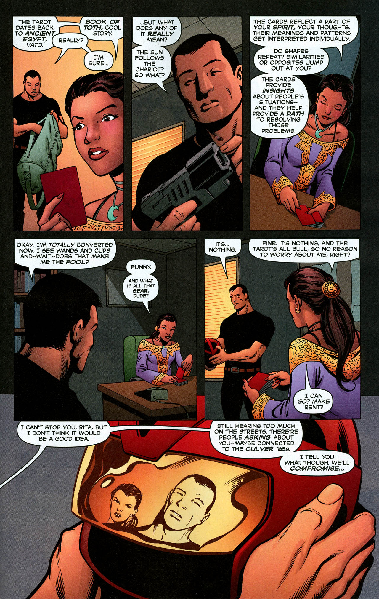 Read online Trinity (2008) comic -  Issue #5 - 22