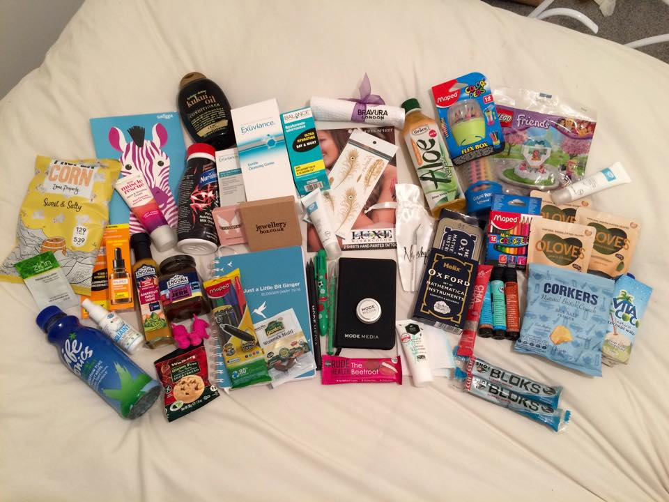 #BloggersFestival Goody Bag