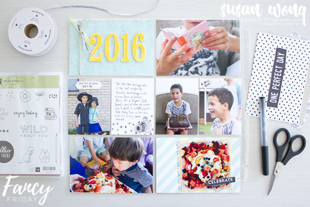 Perfect Day Memories & More Card Pack - Susan Wong for Fancy Friday