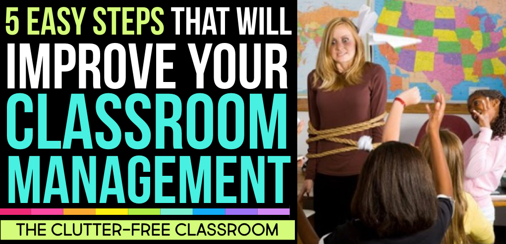 Elementary Classroom Management Techniques : Classroom management strategies for elementary teachers
