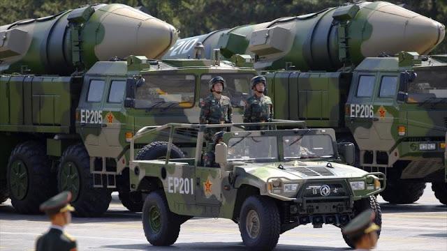 EEUU busca abandonar el Tratado INF para poder enfrentarse a China