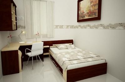 kamar tidur minimalis untuk ruangan sempit