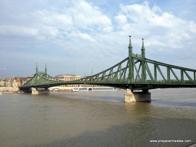 Puentes sobre el Danubio