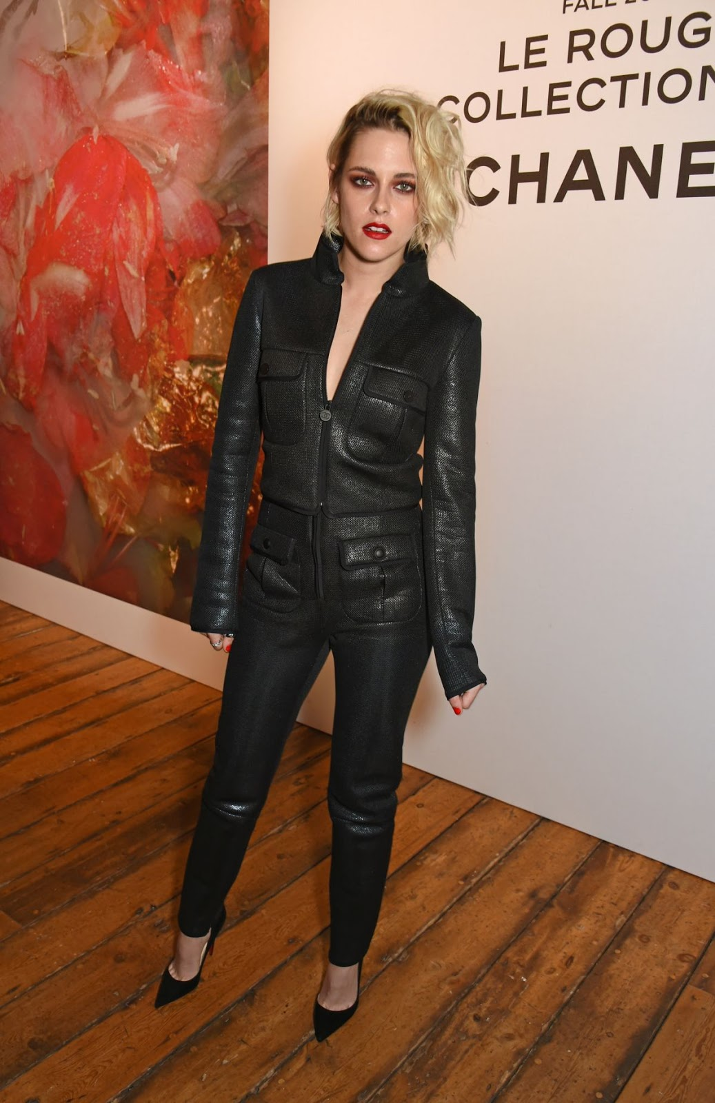 Kristen Stewart Al Lucia Pica Makeup Collection For Chanel Launch In London