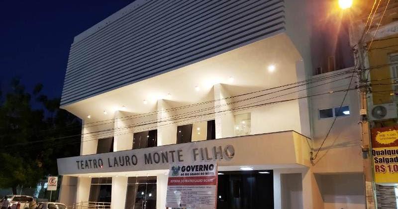 Resultado de imagem para Teatro Lauro Monte