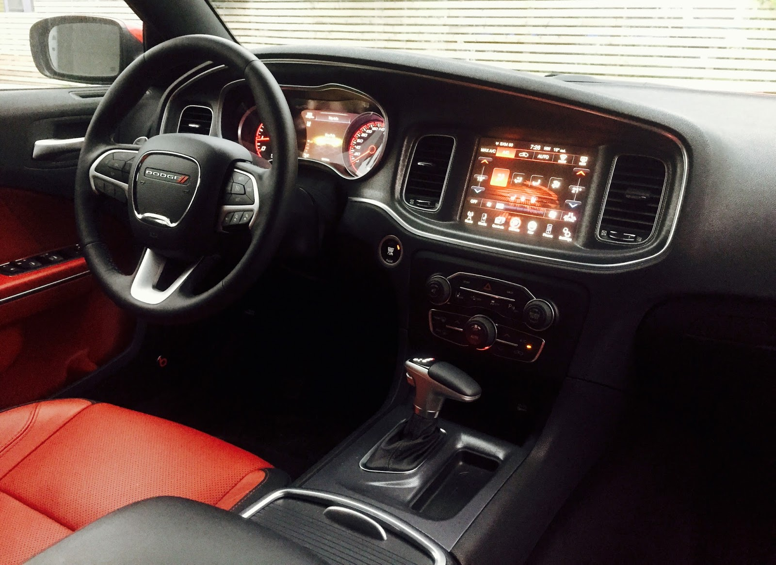 2017 Dodge Charger Sxt V6 Rallye Interior