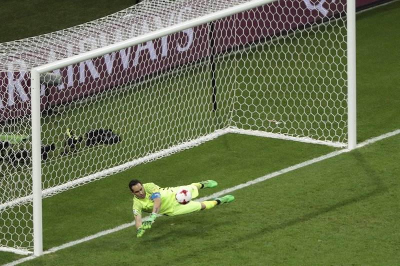 Sensational Claudio Bravo Helps Chile Crush Portugal on Penalties to reach Confed Cup final