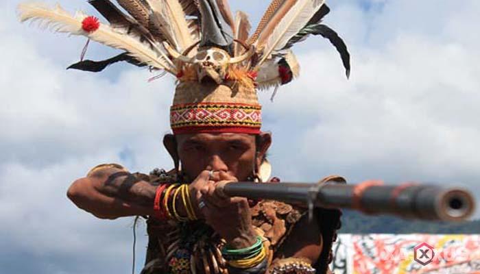 Senjata tradisional Indonesia - Senjata tradisional Kalimantan Tengah (Sumpit atau Sipet)