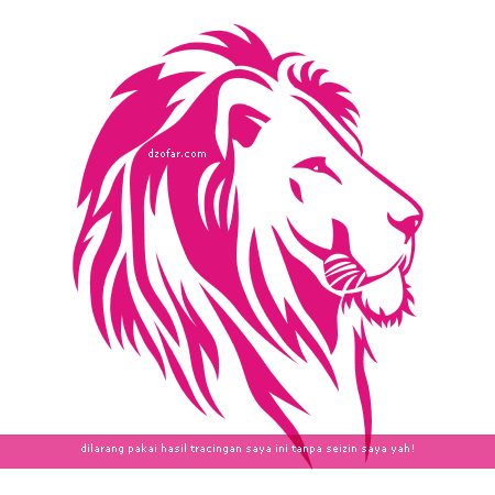 Lion Lineart