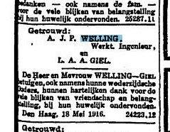 Nieuwe Rotterdamsche Courant, d.d. 18-05-1916