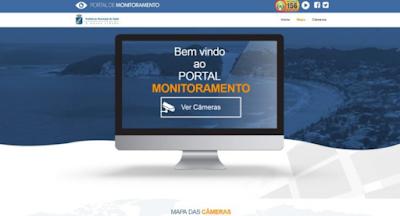 imagens de câmeras ao vivo do Rio Grande do Norte
