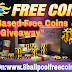 "Presenting Daily Based ""8 Ball Pool Free Coins Account Giveaway"" For Our All Visitors"
