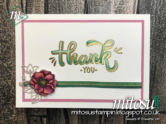 Stampin' Up! Blends & Color Me Happy order from Mitosu Crafts UK Online Shop