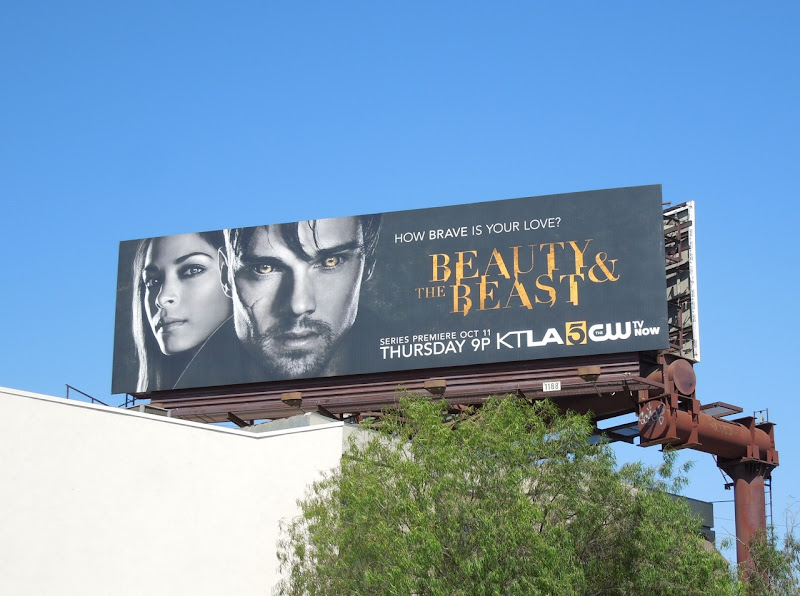 Beauty and Beast remake billboard