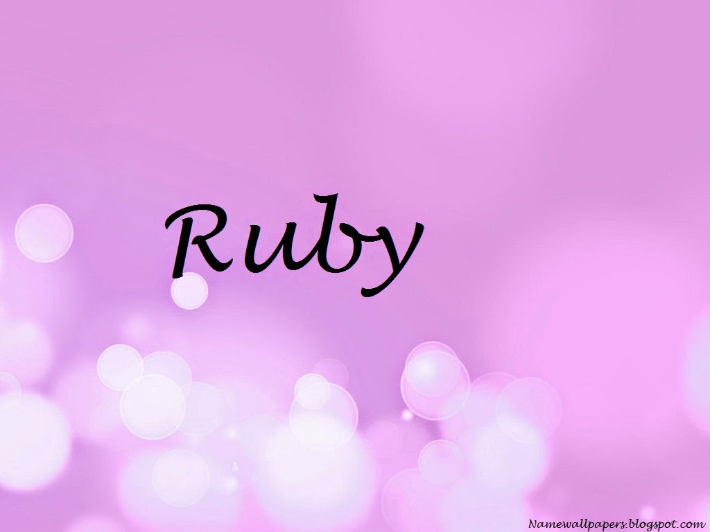Ruby Name Wallpapers Ruby Name Wallpaper Urdu Name Meaning Name Images Logo Signature