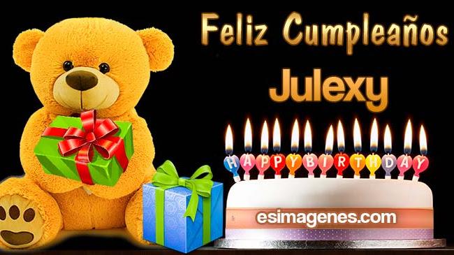 Feliz Cumpleaños Julexy