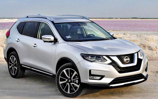 Nissan X-Trail 2018 frente renovado