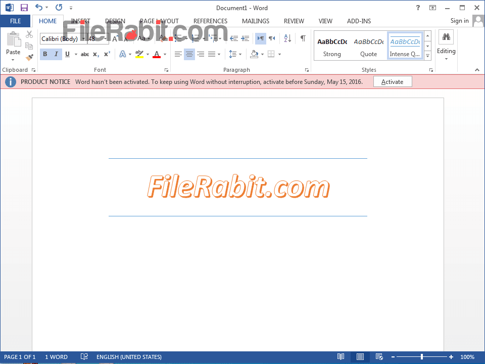 FileRabit com: Download Microsoft Office 2013 Professional Plus