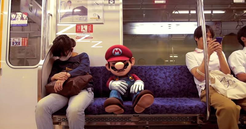 マリオが東京に!?3Dと実車を合わせた『大乱闘スマッシュブラザーズ』のファントレーラー