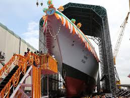 INS 'Nilgiri': Navy's 1st New Stealth Frigate Launched