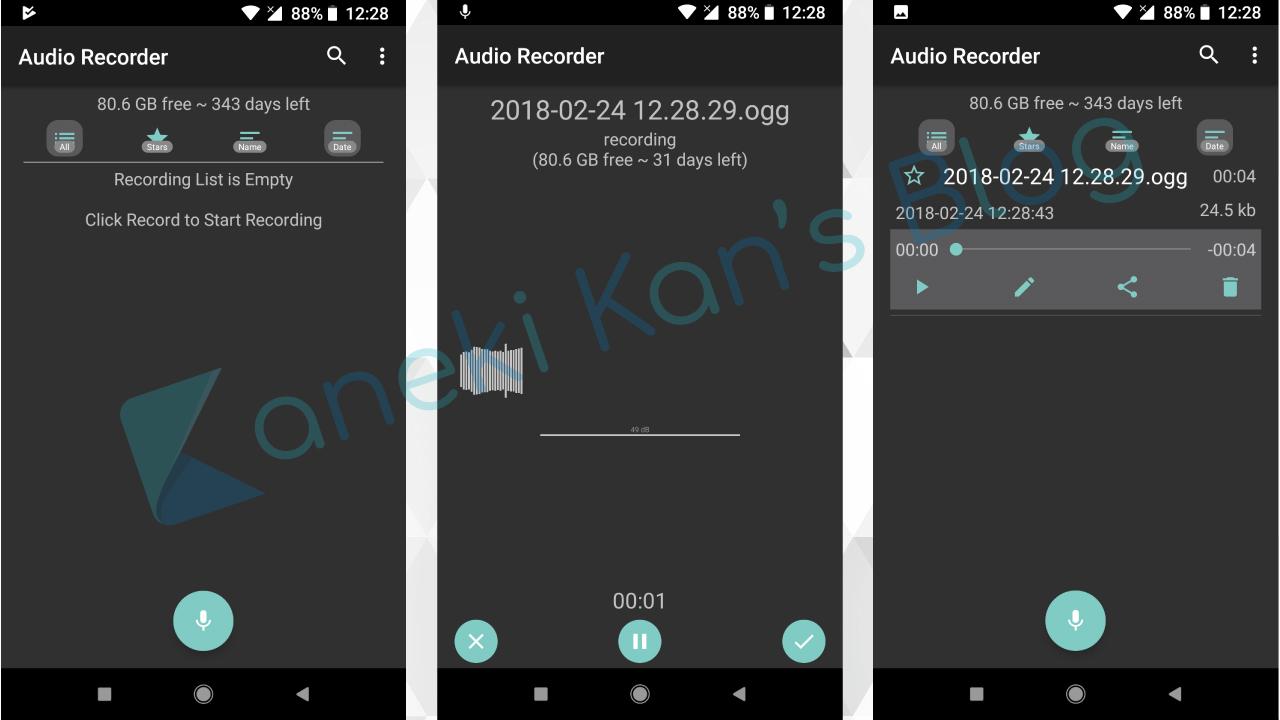 Ứng dụng ghi âm cho Google Pixel và máy Android gốc