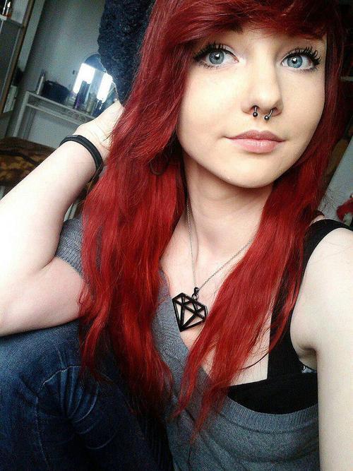 Redhead Scene Hairstyle 121