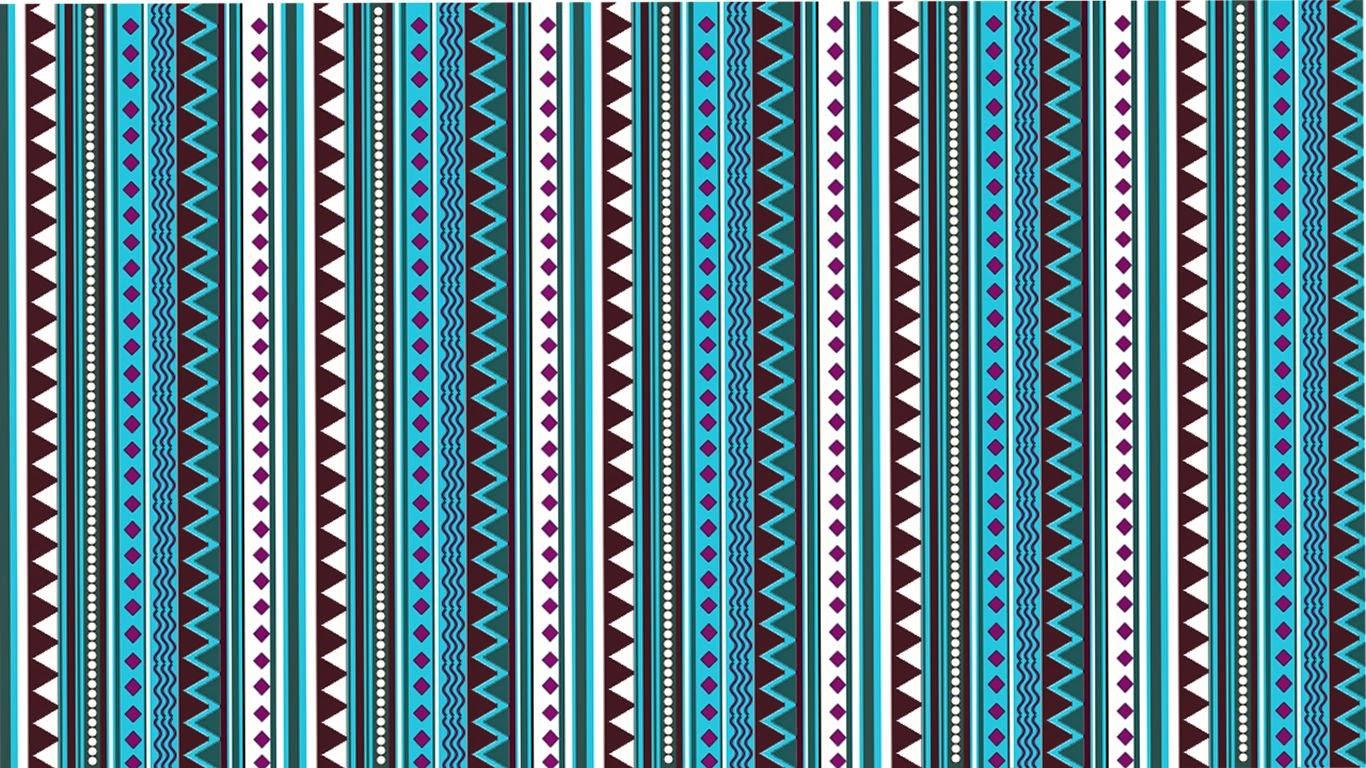 Lovedandsign: Aztec Pattern Wallpaper