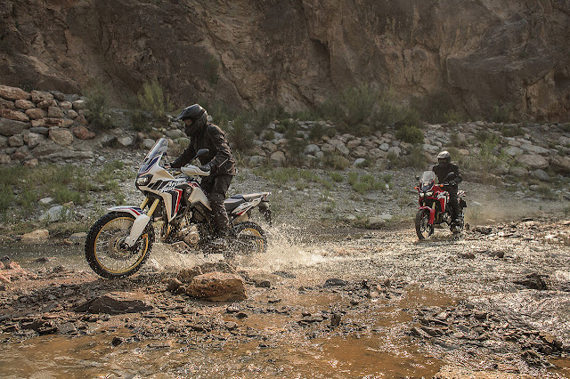 The new 16YM Honda CRF1000L Africa Twin