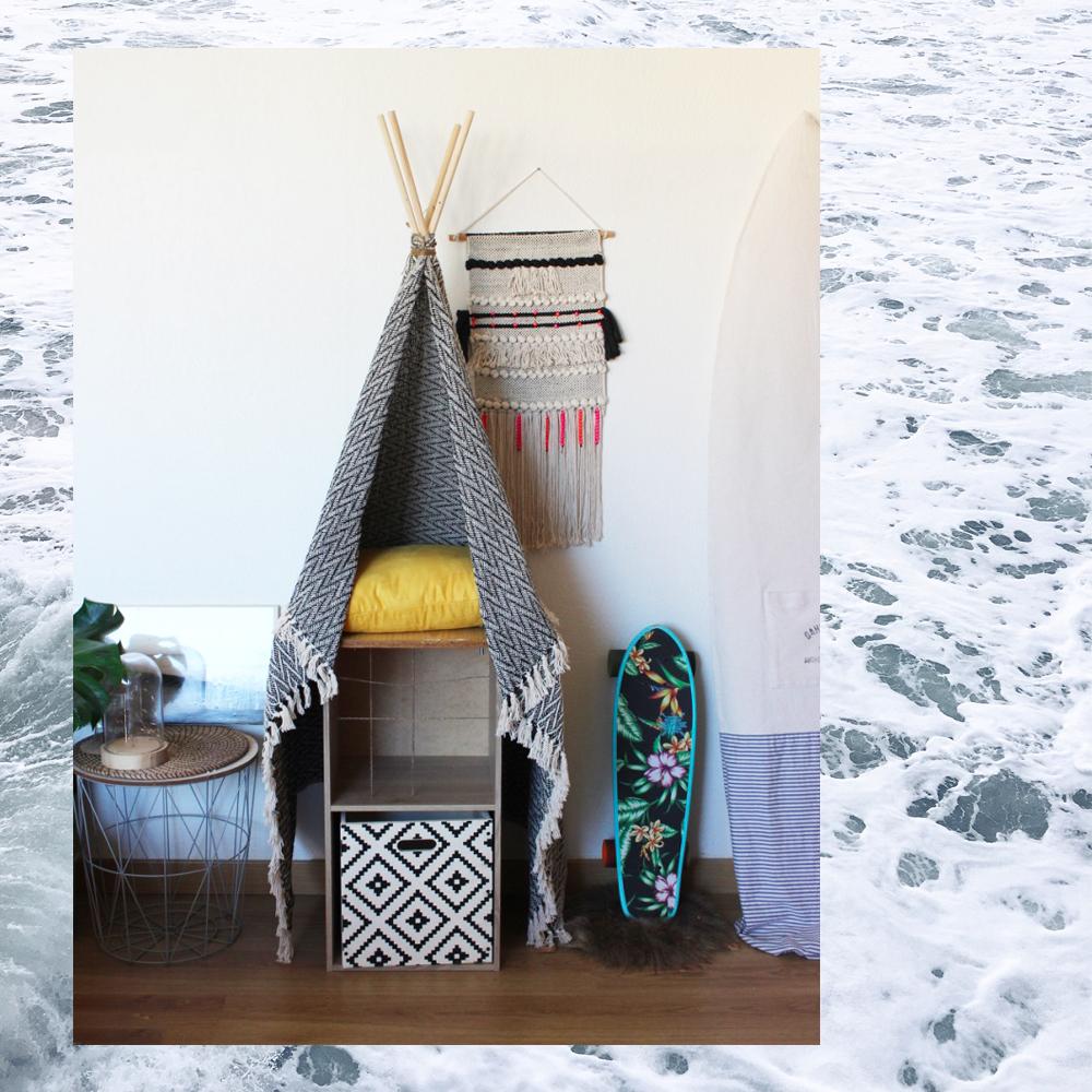 indiacha magazine lifestyle et sports de glisse diy mon tipi pour chat avec leroy merlin. Black Bedroom Furniture Sets. Home Design Ideas