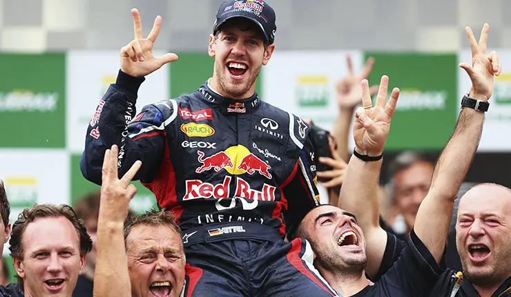 Red Bull история