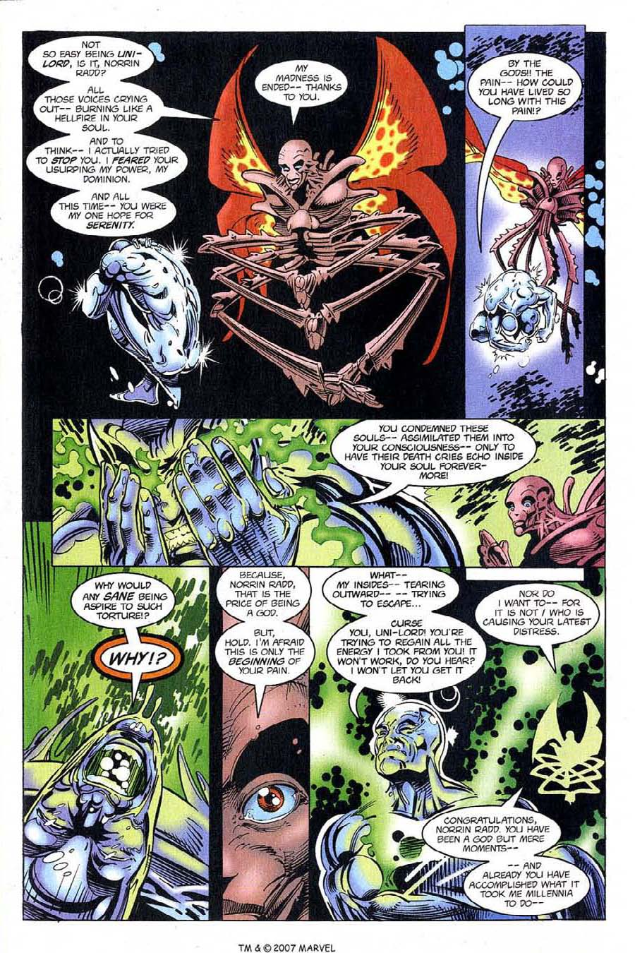 Read online Silver Surfer (1987) comic -  Issue #121 - 9