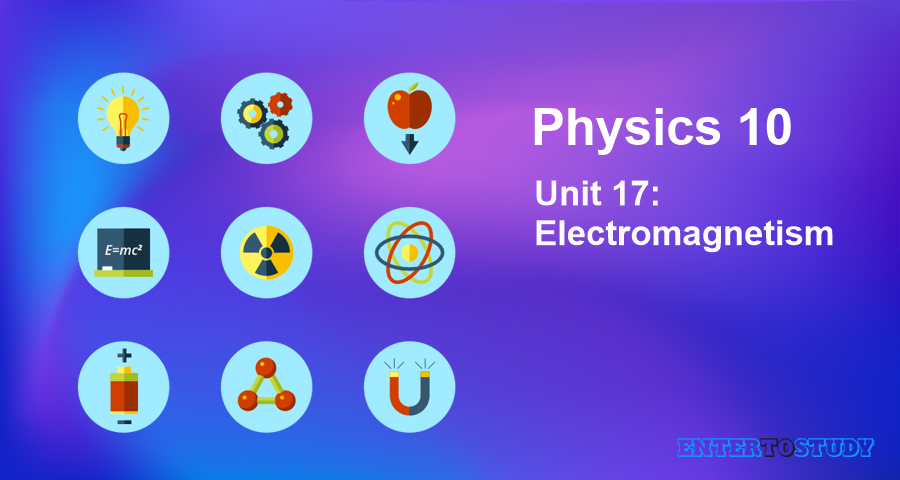 KIPS 10th Class Physics Notes Unit 17: Electromagnetism