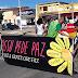 Ato pela paz em Assú mobiliza população na manhã deste sábado (12)