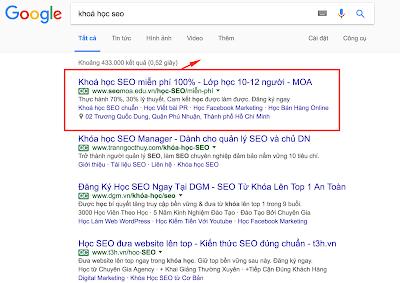 Sử dụng google adwords để xây dựng hệ thống kinh doanh online