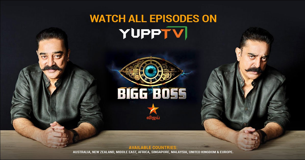 YuppTV Blog: Watch all of Bigg Boss Tamil- Season 2 on Star Vijay