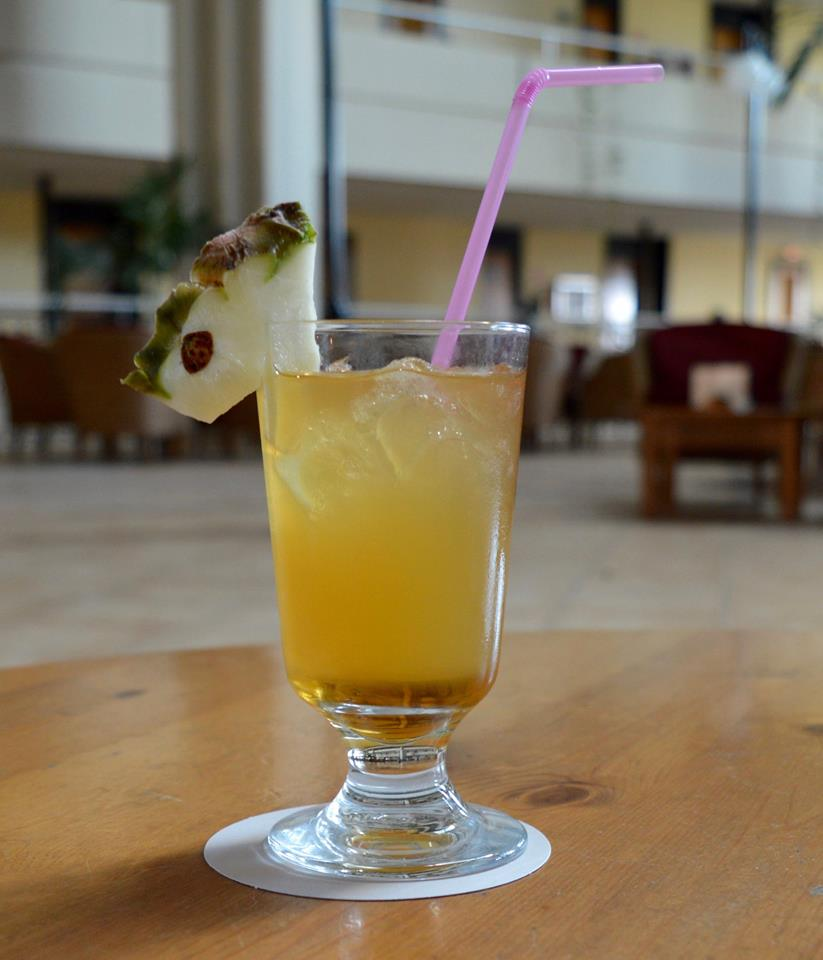 The all inclusive Cocktail menu at Blau Varadero, Cuba - mai Tai