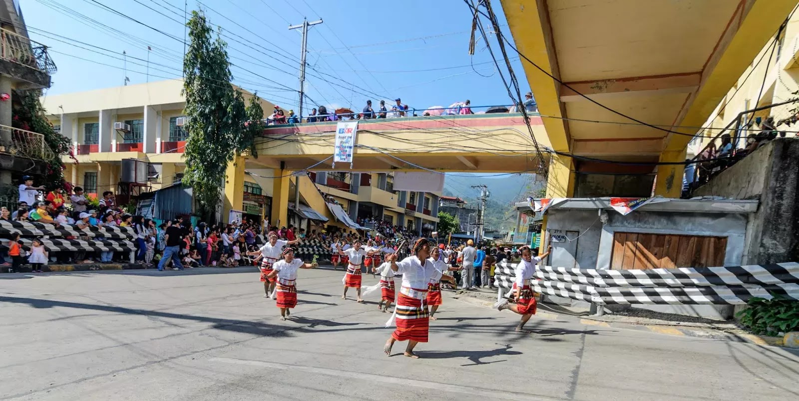 Mountain Province 13 Lang-Ay Street Parade Way Past the Bridge