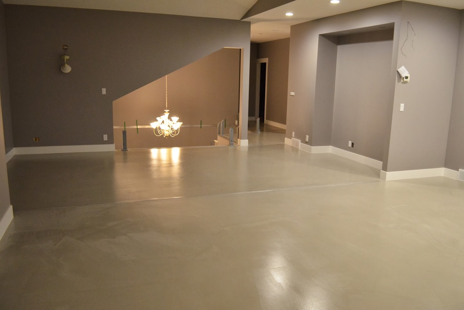 Mode Concrete Contemporary Concrete Flooring Overlay Possible On