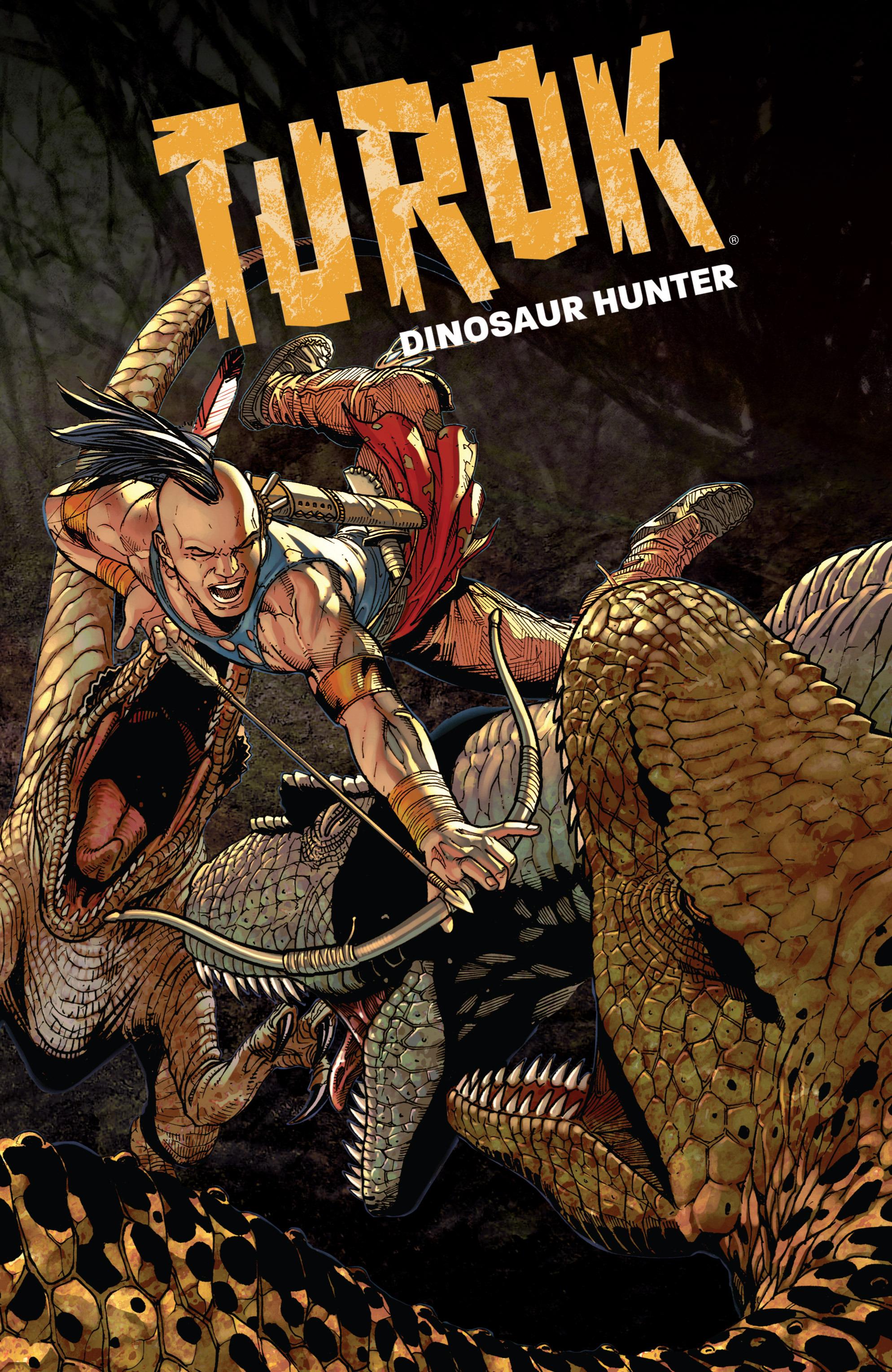Read online Turok: Dinosaur Hunter (2014) comic -  Issue # _TPB 1 - 2