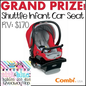 Combi USA Shuttle Infant Car Seat Gieaway