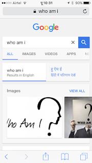 अग्रेजी मे सर्च पर भी हिंदी में परिणाम दे रहा है गूगल