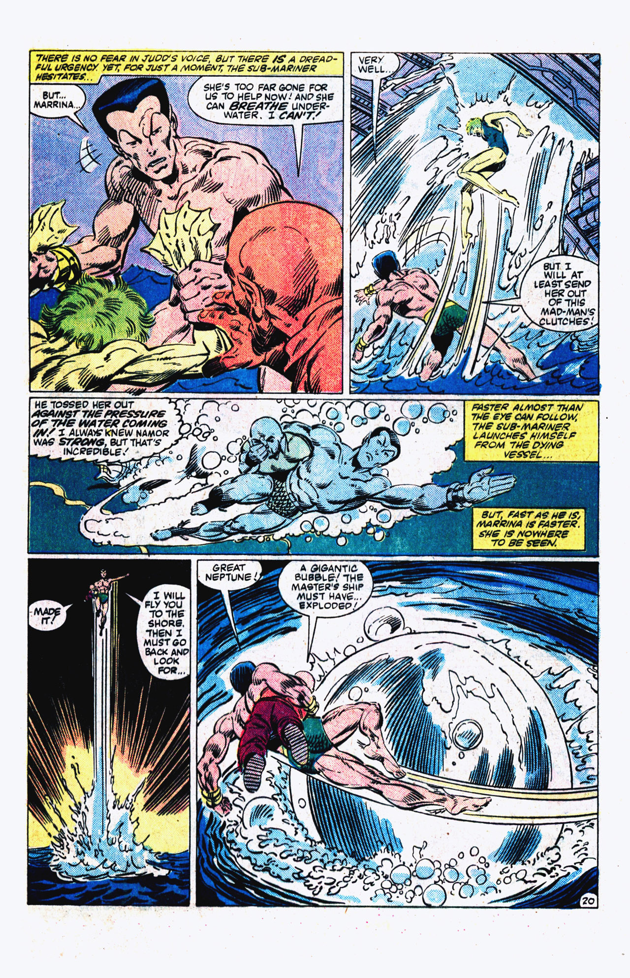 Read online Alpha Flight (1983) comic -  Issue #16 - 21