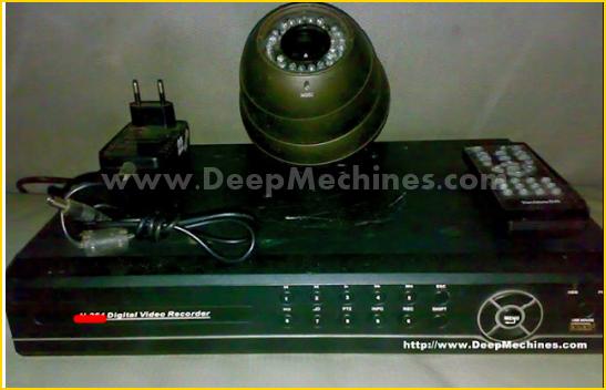 Bentuk Digital Video Recorder (DVR) - Kamera CCTV