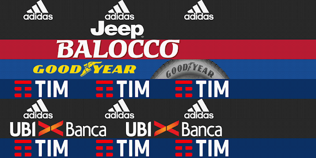 PES 2013 AC Milan and Juventus Adboards for GDB by m4rcelo