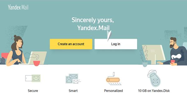 Situs Yandex Mail